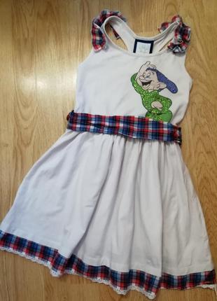 Платье  disney на 10 лет