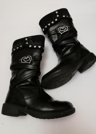 Сапожки деми ботинки miss angel размер 25
