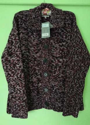 Новый тёплый свитер - кардиган kennys