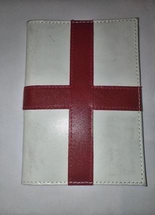 Обложка для паспорта документов натуральная кожа