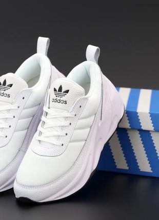 Мужские кроссовки adidas sharks white😍