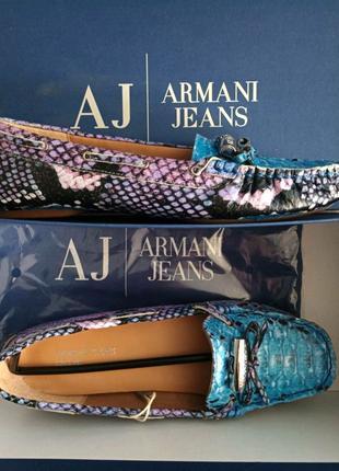 Мокасини жіночі Armani Jeans original 36 (Baldinini)