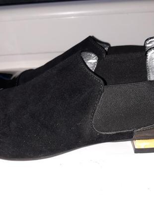 Женские туфли на низком ходу 37 размер.