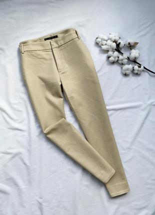 Брюки, бежевые брюки, бежеві брюки, штани, штаны, беж, зара, zara