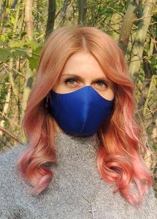Многоразовая маска для лица Питта. Защитная маска из неопрена.