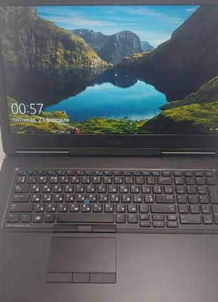 Ноутбук Dell 7710HQ |Core i7-6820 |DDR4-16GB|Quadro-M3000M |NV...