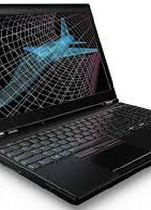 "Ноутбук Lenovo ThinkPad P50 15"" Core i7-6820 16GB-DDR4 M.2SSD-256"