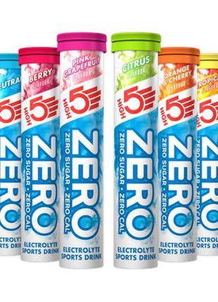 Изотонический напиток High5 Zero (туба на 20 шт)