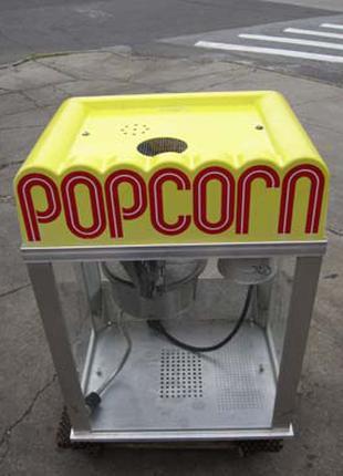 Аппарат для  попкорна Електро+газ GOLD MEDAL