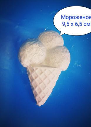 Фигурка мороженое для раскраски