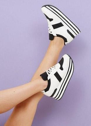 Кроссовки на платформе new look