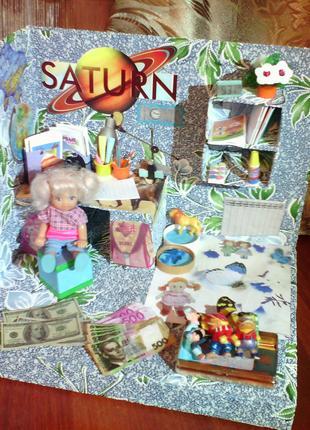 Дом для куклы - детская комната
