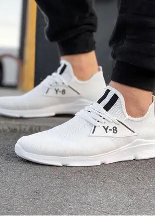 Распродажа Мужские Кроссовки под Adidas Y-8 (white) 39-44