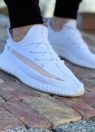 Распродажа Мужские Кроссовки под Adidas Yeezy Boost 350 (white) 4