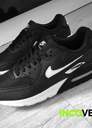 Мужские кроссовки Nike Air Max 90 черные