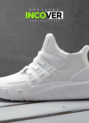 Мужские кроссовки Adidas EQT Bask ADV белые