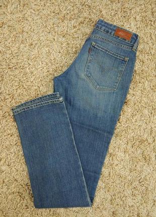 Джинсы зауженные джинси джинсовые штаны от levis