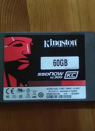 Накопитель-SSD 60Gb Kingston SSDNow KC300