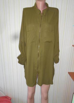 # платье-рубашка #new look # туника# рубашка# # #