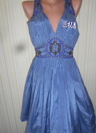 #распродажа!#роскошное шелковое платье с юбкой пачкой #warehou...