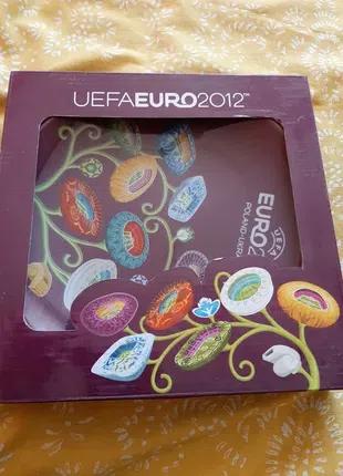 Тарелка сувенир к ЧЕ 2012
