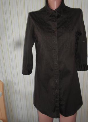 #платье-рубашка#seppala#индия #блуза # стрейчевая туника# удли...