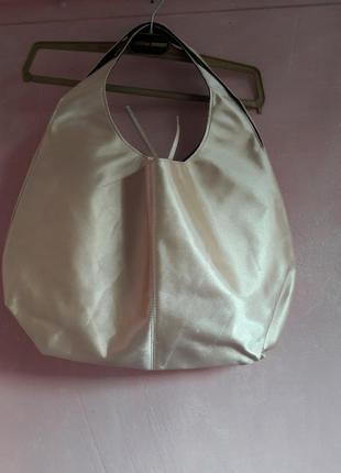 Сумка атласная, сумка шоппер