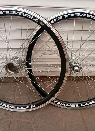 Велосипедные колёса 20,24,26,28 дюймов на двойном ободе комплект