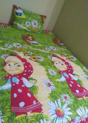 Детское / подростковое постельное белье. Полуторное