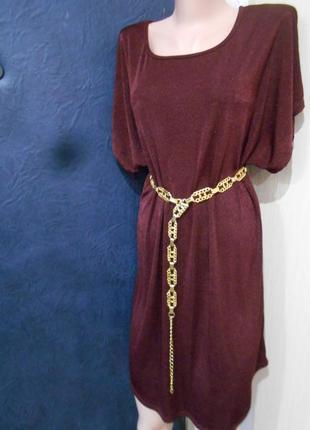 #трикотажное платье #oxxyzen# made in france#туника#большой ра...