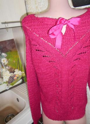 #вязаный свитшот #bershka#ажурная кофта #свитер флокс #