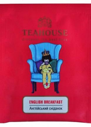 Чай Английский завтрак Teahouse пакетированный для чашки 50 Х 2 г