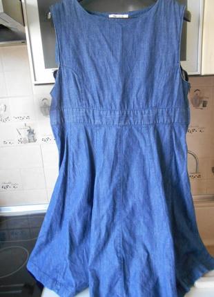 #джинсовое платье #asos matemity#сарафан #одежда для беременны...