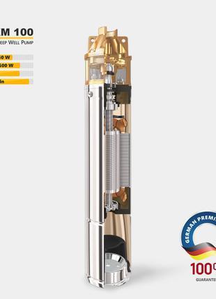 Глубинный насос для скважин TEKK haus 4SKM100