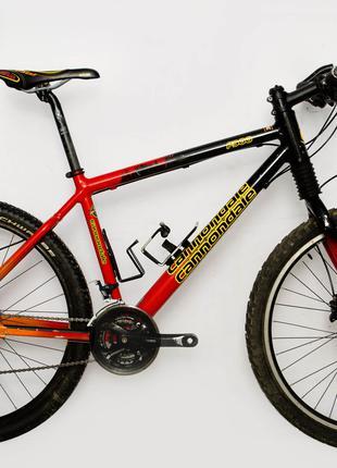 Велосипед Cannondale F900 26 Black-Red Б/У