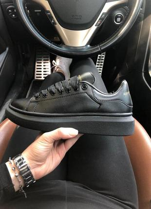 Женские кроссовки alexander mcqueen black 😍