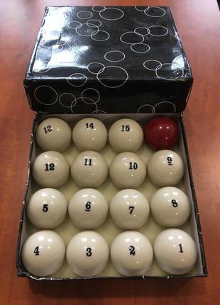 Бильярдные шары для русского бильярда 68 мм