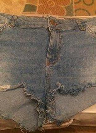 Шорты джинсовые, denim co.