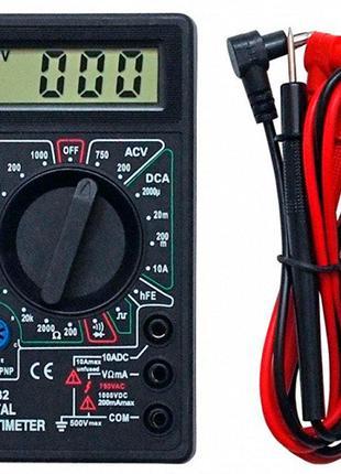 Мультиметр-тестер цифровой точный DT-832
