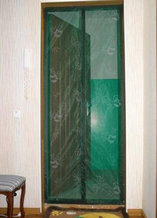 Не Китай! Антимоскитные шторы, москитная сетка штора на магнитах