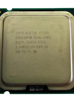 Процессор Intel Pentium E5300 2 ядра2.60GHz/2MB/800MHz Socket 775