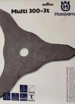 Нож триммера 3-х лучевой Husqvarna Multi 300-3T