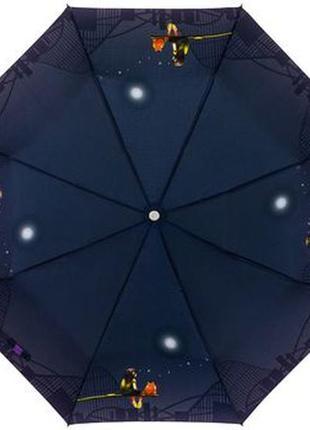 Зонт zest 53626 женский, полуавтомат девочка и кот