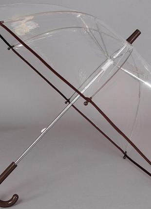 Зонтик детский прозрачный трость artrain 1511-1917
