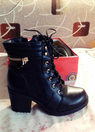 Стильные ботильоны  ботинки claudia ghizzani 40 размер