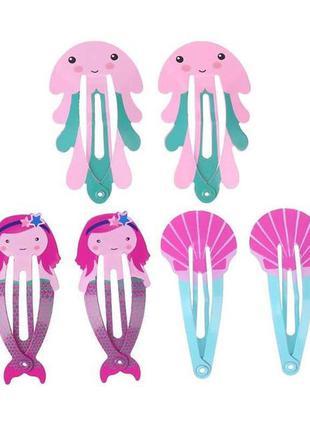 Комплект детских заколок для волос аксессуары для девочек