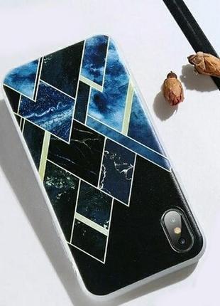 Силиконовый чехол для huawei p10 или  p10 lite геометрический ...