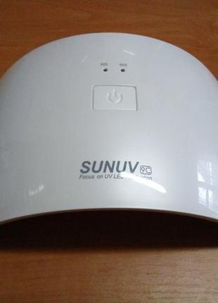 Светодиодная uf led uv лампа для сушки гель лака 24 вт.