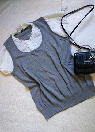 Женская фирменная кофта блуза блузка большого размера