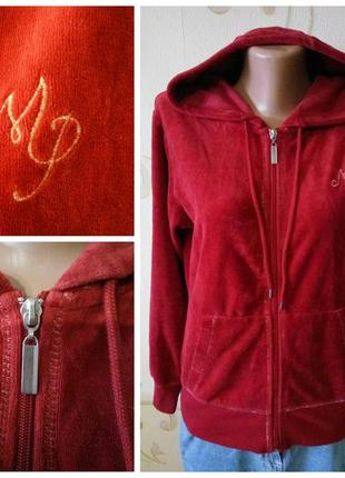 Mari philippe . брендовая спортивная кофта куртка с карманами ...